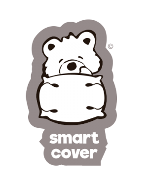 2x SMART COVER® SET - 100% PURE COTTON - KIDO® (4-7 y) PILLOW COVER  REPLACEMENT